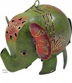 Medusa olifant groen