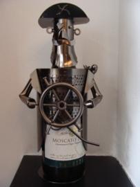 Wijnfleshouder kapitein/piraat