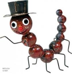 Medusa rups rood klein
