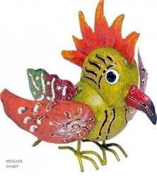 Medusa papegaai groen/oranje