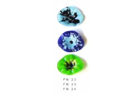 Carneol bloem groen FN 24