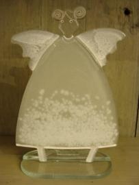 Kerstengel van glas