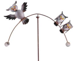 Windspel met uilen