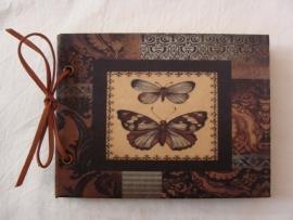 Notitie boekje vlinder