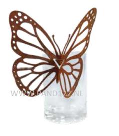 Vlinder voor aan vaas -2-