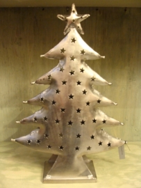 Kerstboom van metaal