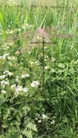 Tuinsteker Libelle opengewerkt