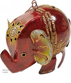Medusa olifant rood