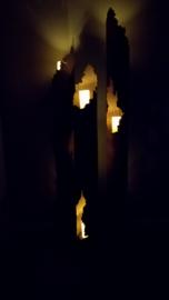 Lichtzuil met 3 openingen  -S-