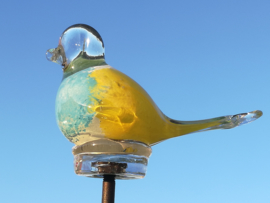 "Tuinsteker glasvogel klein ""Spring"""