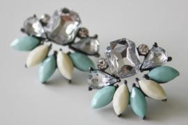 Cute Earrings  Mint Green