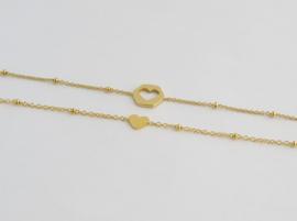 ♥ Share Bracelets| Gold