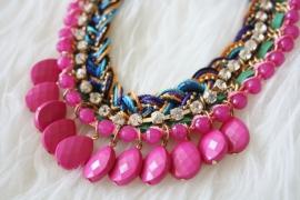 Rhodos Necklace Pink