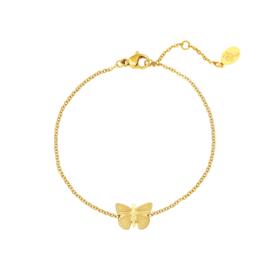 Butterfly Bracelet | Gold