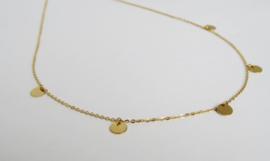 Golden Coin Necklace