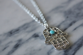 Vintage Necklace Silver