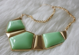 Green Gold Necklace