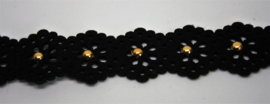 Flower Choker Gold