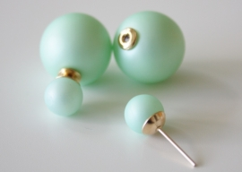 Mint Green Double Pearl