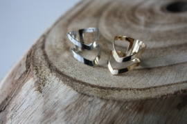 Gold/ Silver Knuckle Ring