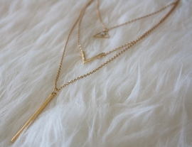 Gold Tropic Necklace