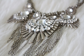 Silver Glamour Necklace