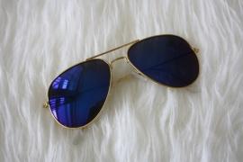 Mirror Gold Sunglasses