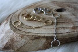 Knuckle Set Silver - Gold