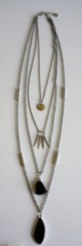 Indian Necklace Silver