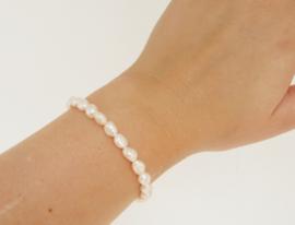 Pearl Bracelet | Silver