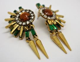 Gold Egypt Earrings