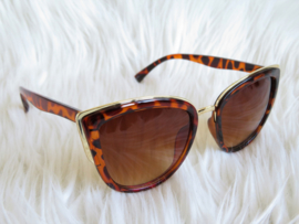 Tanned Lines | Leopard Brown
