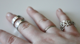 Ring Set Gold/Silver