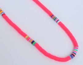Neon Pink Katsuki Necklace