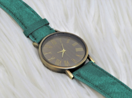 Vintage Green Watch