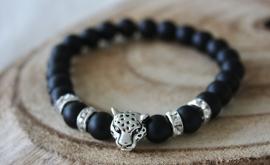 Black Leopard Bracelet
