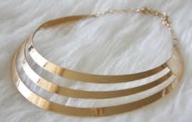 Silver - Gold Necklace
