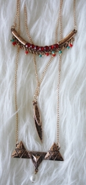 Gold Indian Necklace