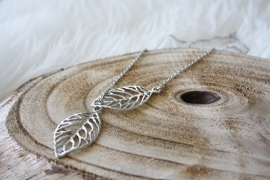 Tree Leaf Necklace