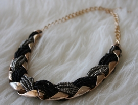 Black Rope Necklace