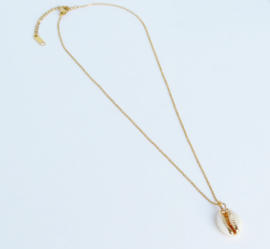 Shell Necklace | Gold
