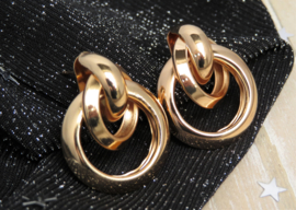 Chique Gold Earrings