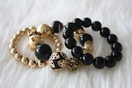 Dark Winter Bracelets