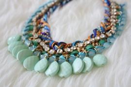 Rhodos Necklace Blue