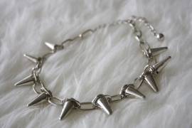 Silver Spikey Necklace