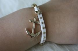 White Anklet Bracelet