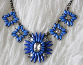 Blue Shourouk Necklace