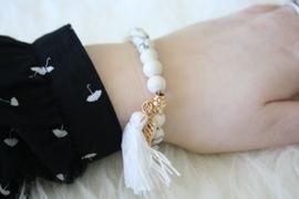 White Tropic Bracelet