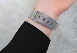 Silver Geneva Watch