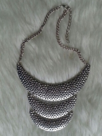 Silver Trio Necklace
